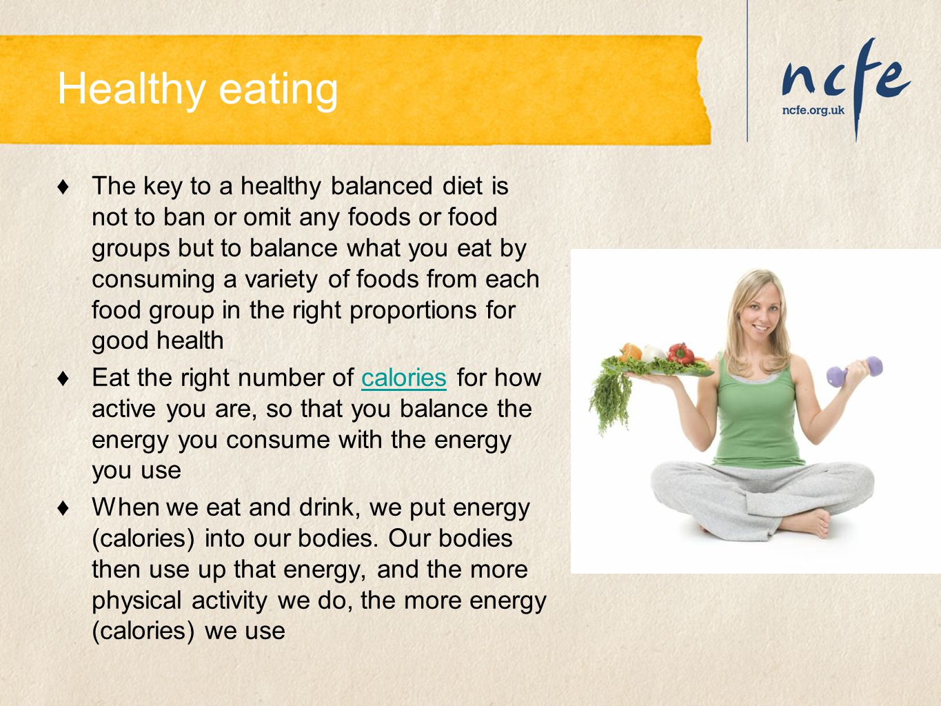 Healthy eating – self assessment ♦Are you a healthy eater.