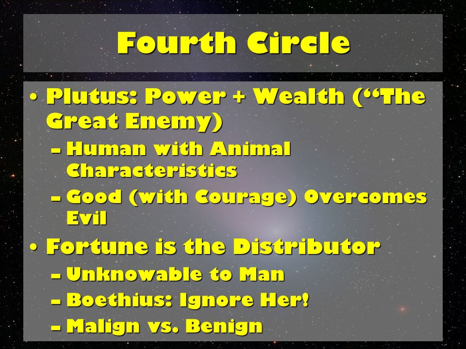 Fifth Circle Fifth Circle: Wrath and SullennessFifth Circle: Wrath and Sullenness –Different Spectrum, Different Punishment –Never-Ending Battle: Florence.