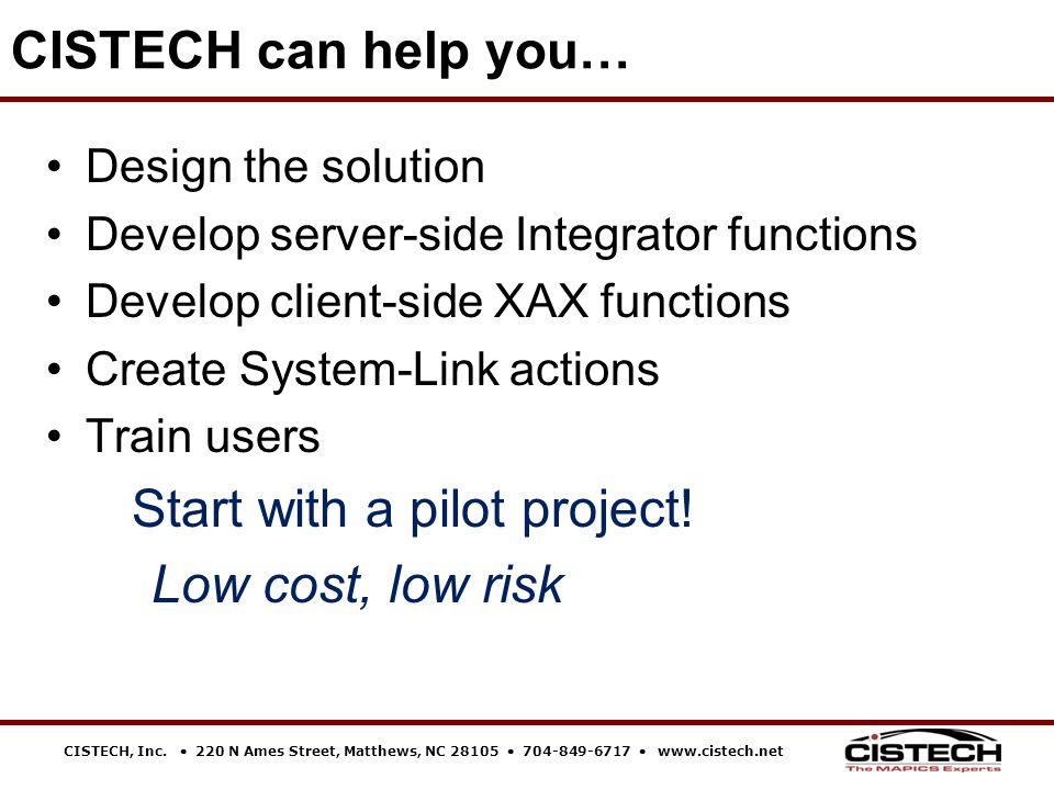 CISTECH, Inc.