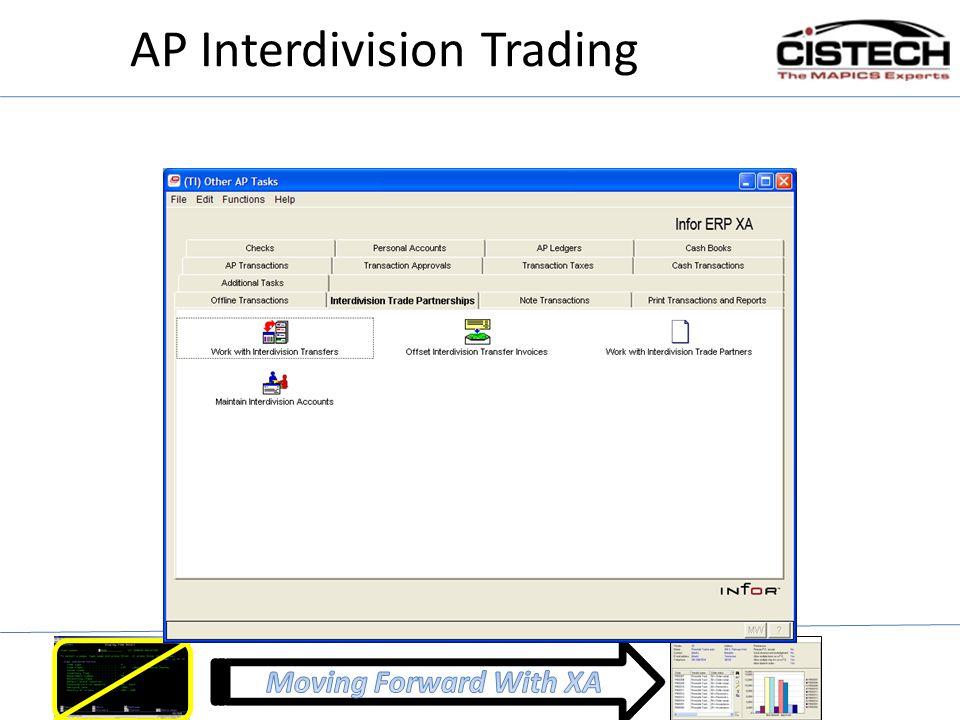 AP Interdivision Trading