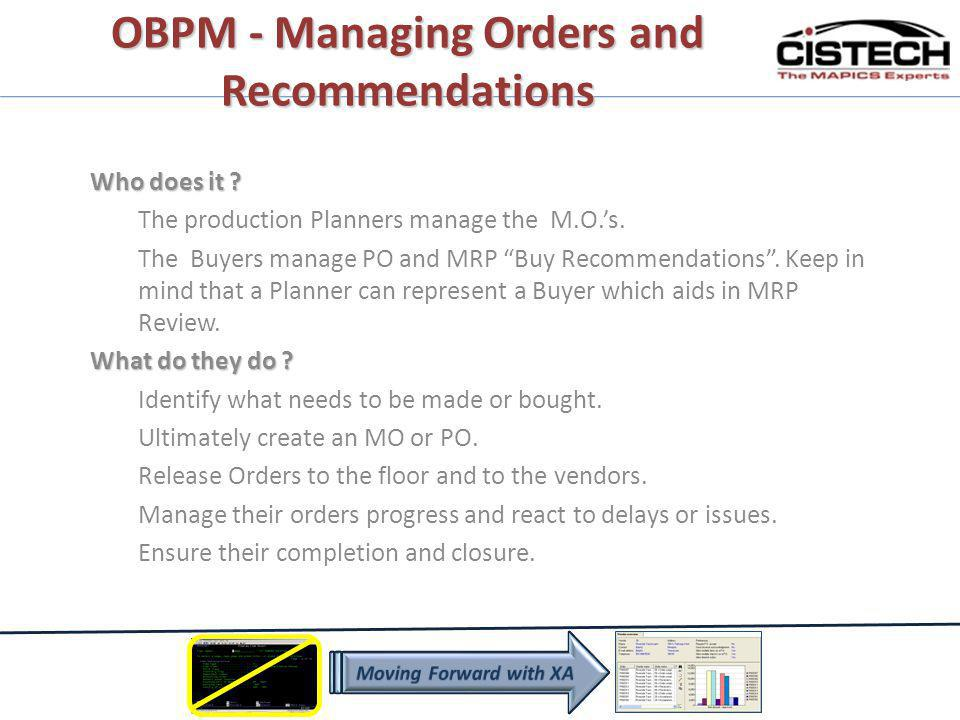 Application Settings added to OBPM