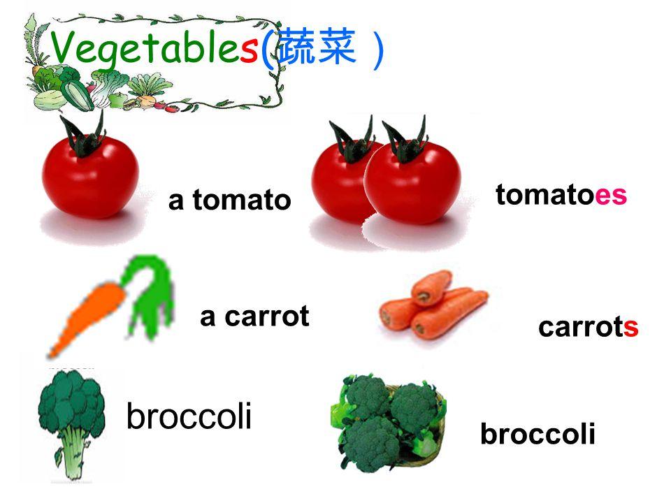 uncountable noun (不可数名词) Do you like broccolis? Do you like broccoli?