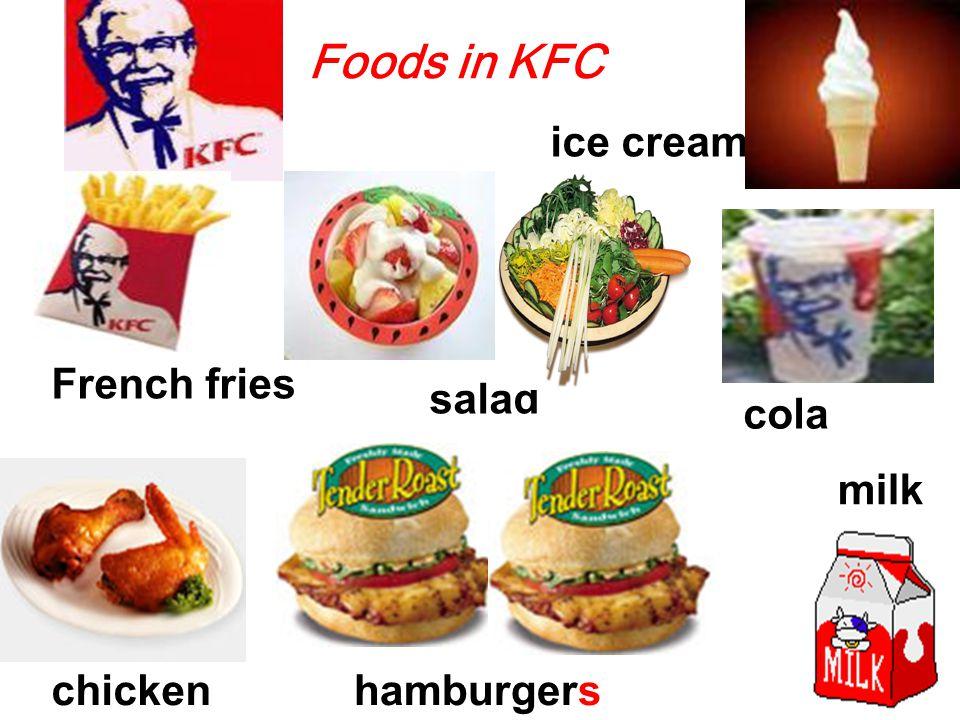 ice cream salad Countable noun and uncountable noun ( 既是可数名词又是不可数名词 ) 不可数:冰淇淋 可数:一个冰淇淋 不可数 : 沙拉 可数:一碟 / 份沙拉 an ice cream a salad chicken a chicken 不可数 : 鸡肉 可数:一只小鸡
