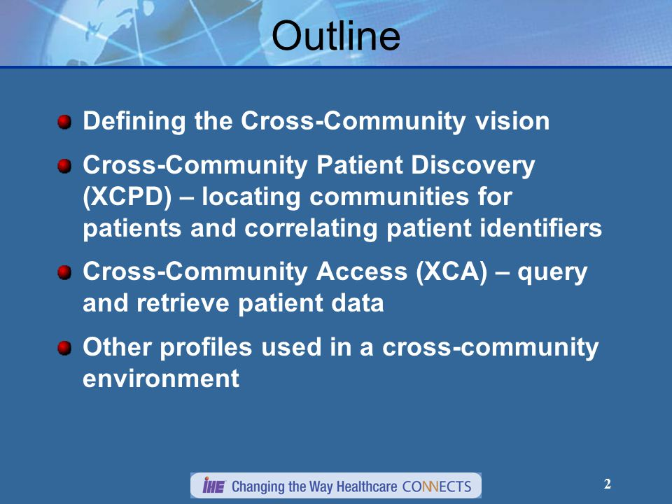 13 XCPD Options Health Data Locator – collects locations of health data for selected patients.