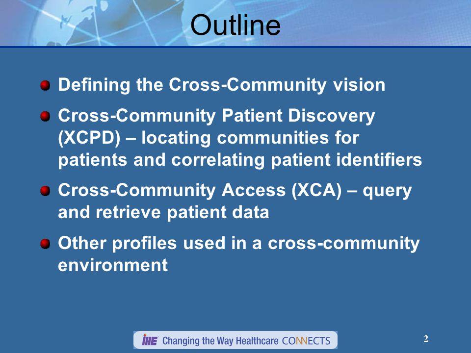 23 XCA Cross-Community Access
