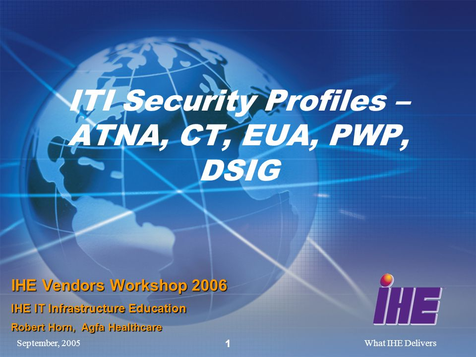 12 ATNA Suitable Network Environments Physically secured networks Explicit physical security preventing access by other nodes, or Explicit physical security preventing access by other nodes, or VPN and VLAN technologies that provide equivalent network isolation.