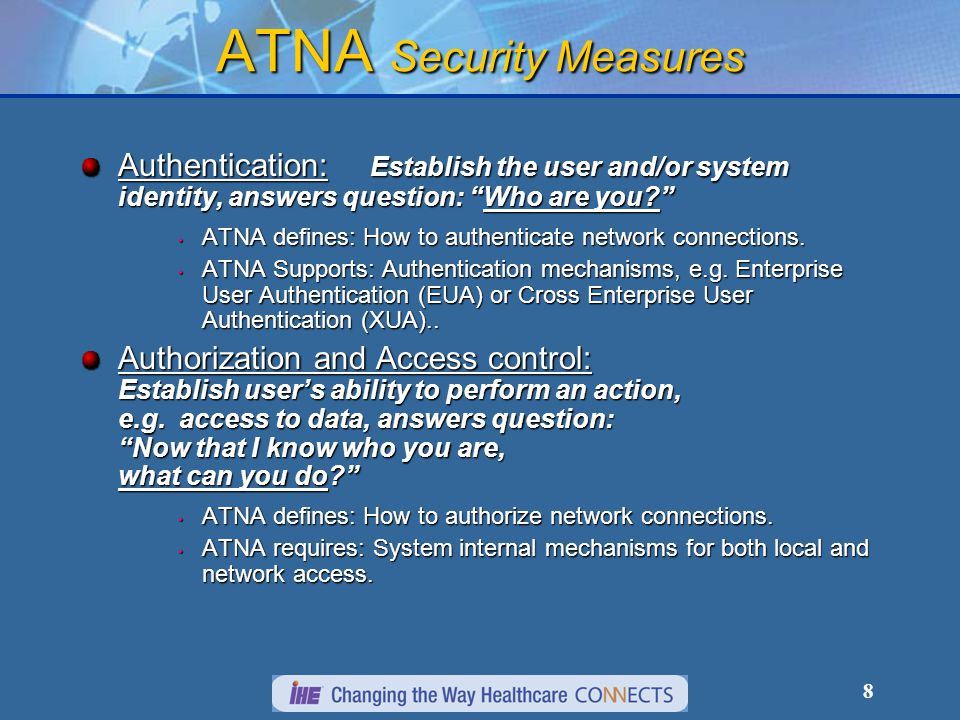 29 What it takes to be a secure node The entire host must be secured, not just individual actors.