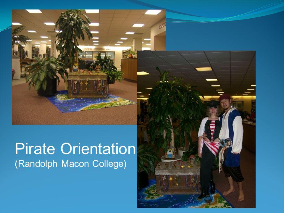 Pirate Orientation (Randolph Macon College)