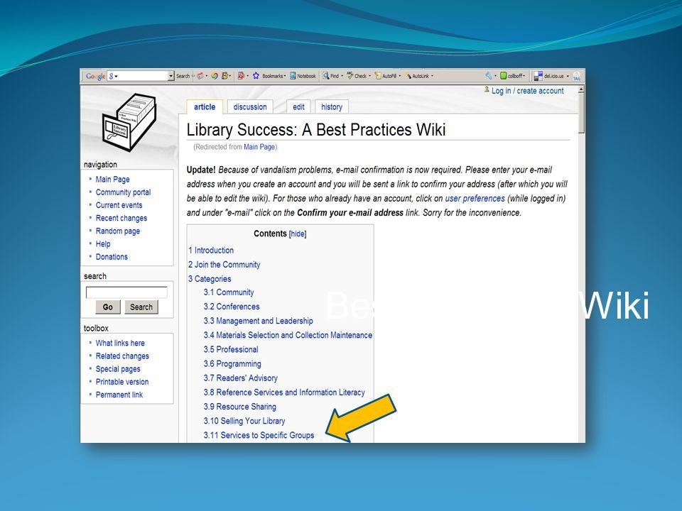 Best Practices Wiki