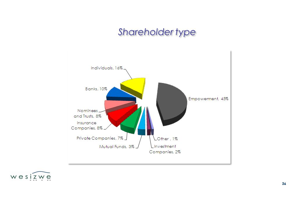 Shareholder type 36