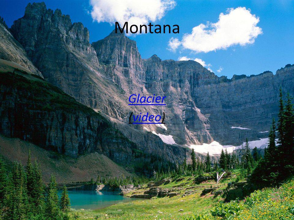 Montana Glacier (video)video