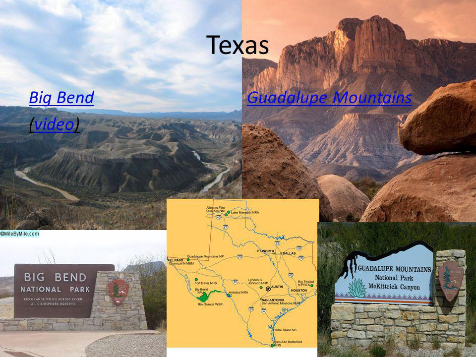 Texas Big Bend (video)video Guadalupe Mountains