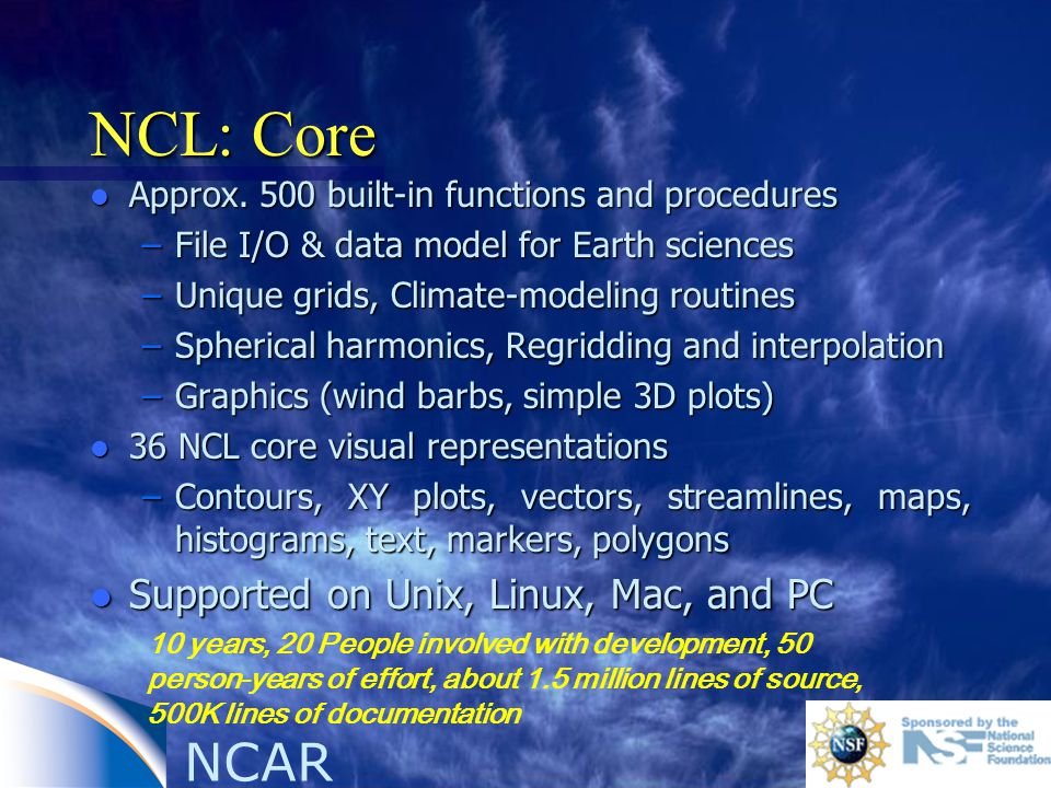 NCL: Core l Approx.