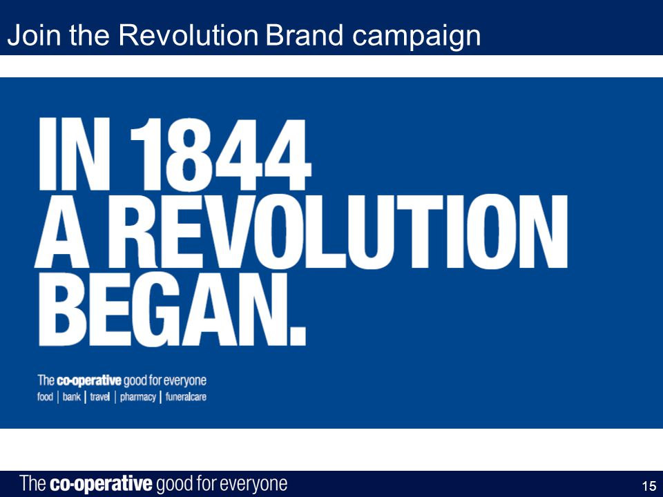 Join the Revolution Brand campaign 15