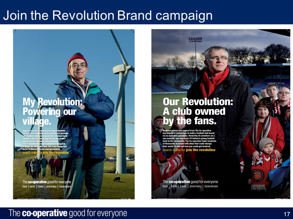 Join the Revolution Brand campaign 17