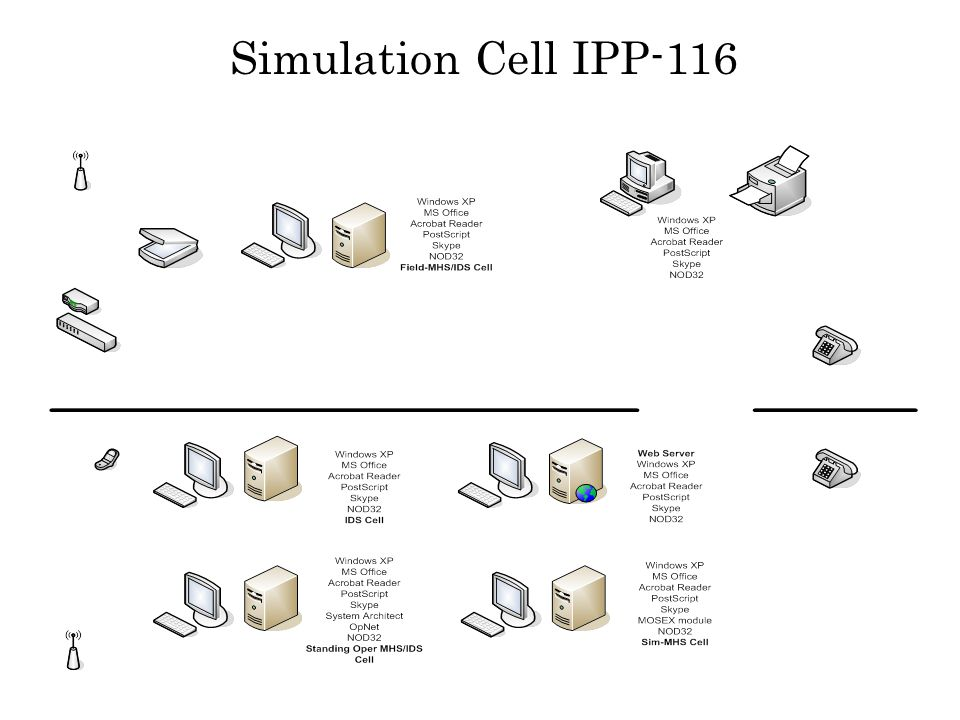 Simulation Cell IPP-116