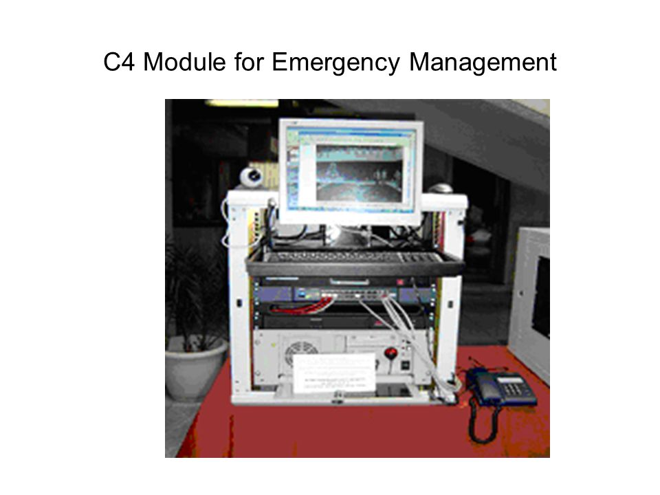 C4 Module for Emergency Management