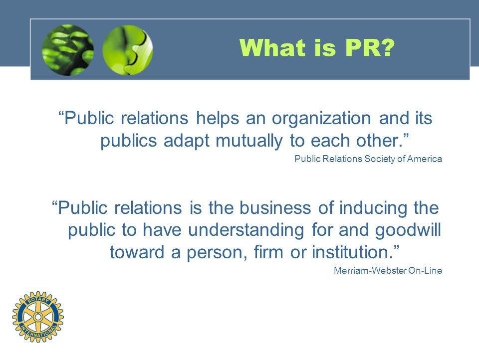 Is There a Correlation Between Effective Public Relations and Membership?