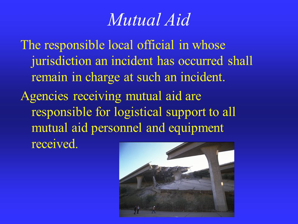 Plan Limitations Must be supplemented by more detailed plans at the local, operational area, and regional levels Truly fulfilling the incident's resource requests requires ongoing commitment on the part of local agencies to adequately train and equip their personnel, and respond capable apparatus.