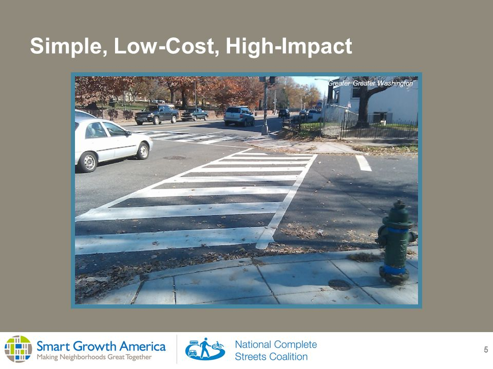 Saving Money: Richfield, Minnesota 16 Needed to replace road after necessary sewer work Priced at $6 million to replace road as is Mn/DOT re-evaluated transportation needs and found no need for wide roadway Reallocated road space for all users, saved $2 million