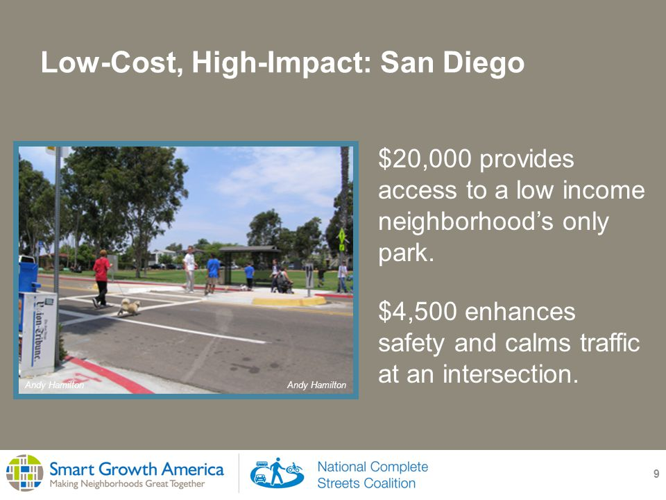 Low-Cost, High-Impact: San Diego 10