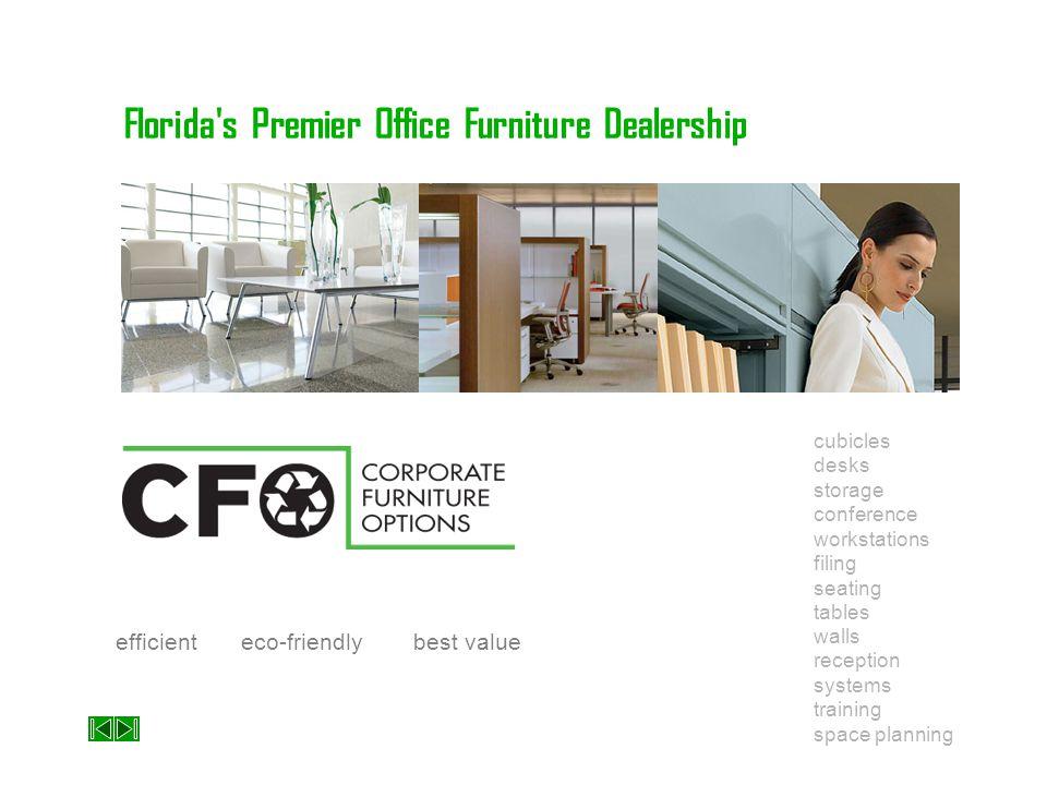Florida's Premier Office Furniture Dealership cubicles storage workstations seating walls systems space planning desks conference filing tables recept