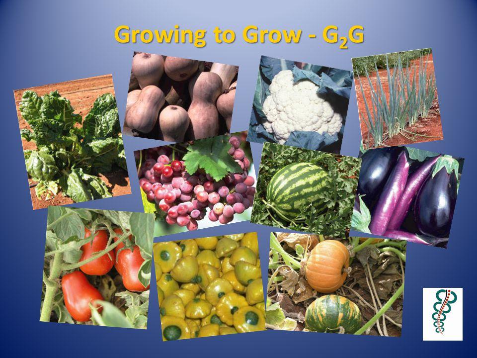 Growing to Grow - G 2 G