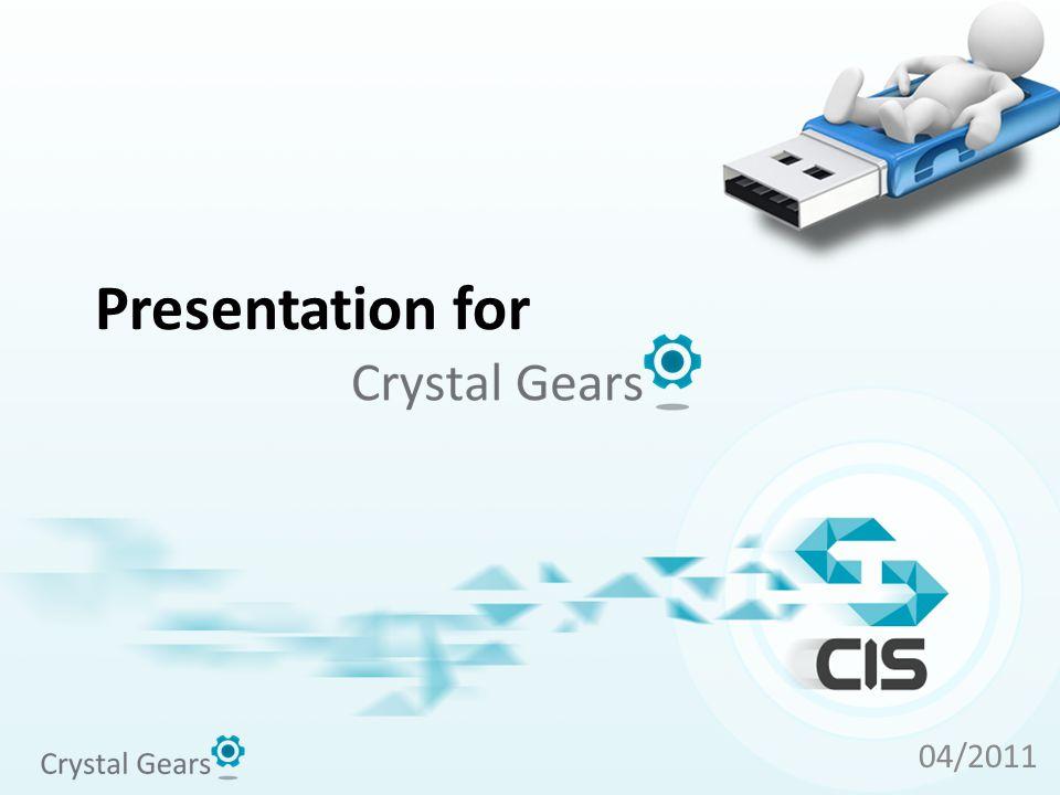 Presentation for 04/2011