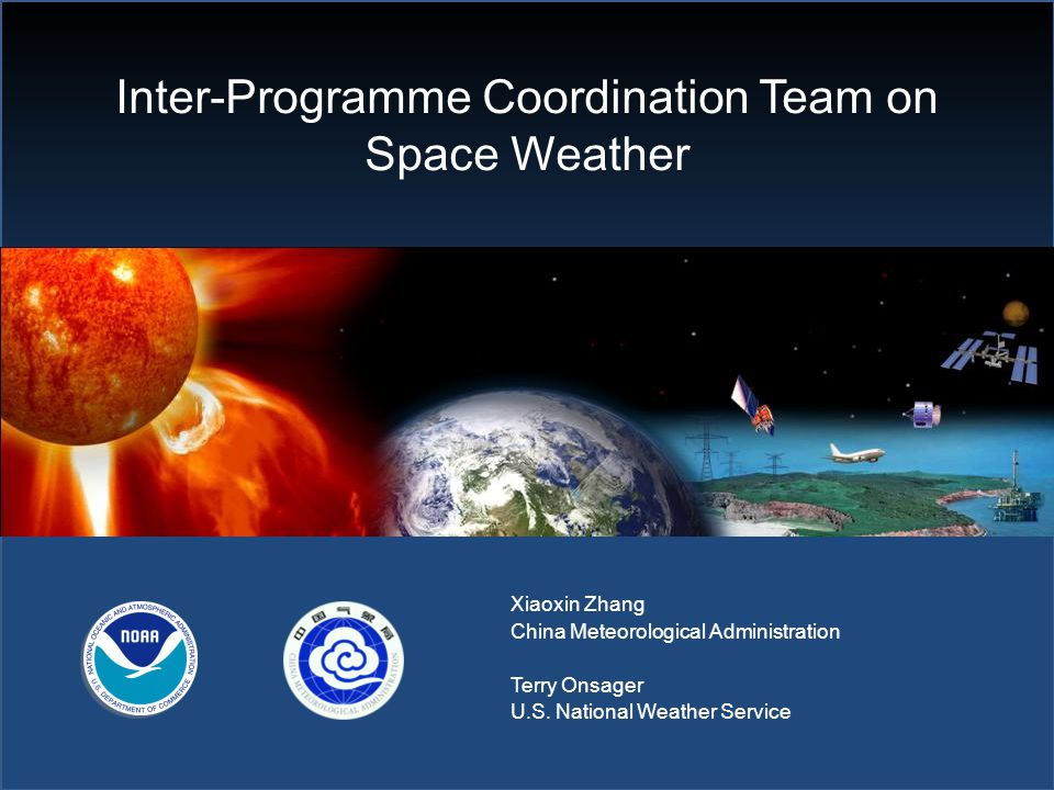 Space Weather in the World Meteorological Organization (WMO) THE POTENTIAL ROLE OF WMO IN SPACE WEATHER A REPORT ON THE POTENTIAL SCOPE, COST AND BENEFIT OF A WMO ACTIVITY IN SUPPORT OF INTERNATIONAL COORDINATION OF SPACE WEATHER SERVICES, PREPARED FOR THE SIXTIETH EXECUTIVE COUNCIL April 2008 Motivation for WMO: Space Weather impacts the Global Observing Systems and the WMO Information System Space Weather affects important economic activities (aviation, satellites, electric power, navigation, etc.) Synergy is possible with current WMO meteorological services and users, such as sharing observing platforms and issuing multi-hazard warnings Several WMO Members have Space Weather with Hydro-Met Agency