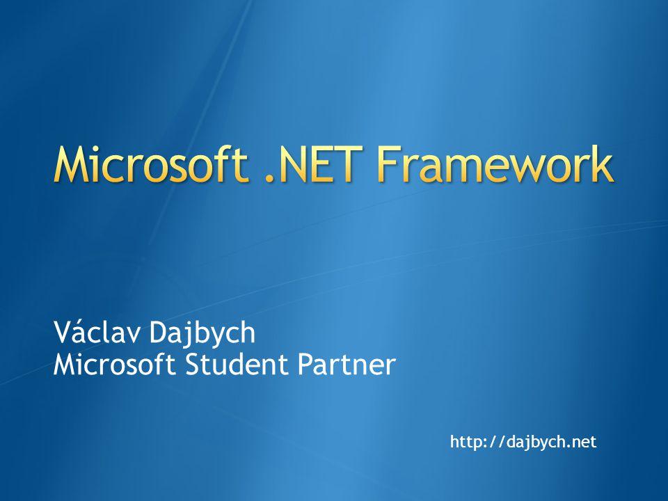 .NET Micro Framework.NET Compact Framework Silverlight.NET Framework ProhlížečProhlížeč Přenosná zařízení MikrokontrolérMikrokontrolér DatabázeDatabázeServerServerPCPC