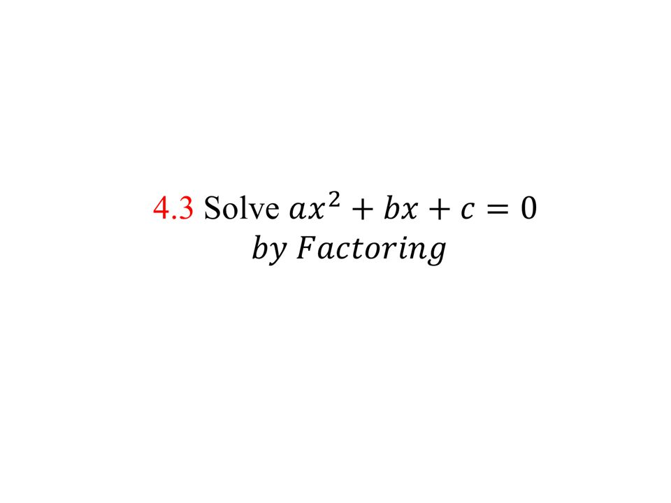 EXAMPLE 1 Factor trinomials of the form x 2 + bx + c Factor the expression.