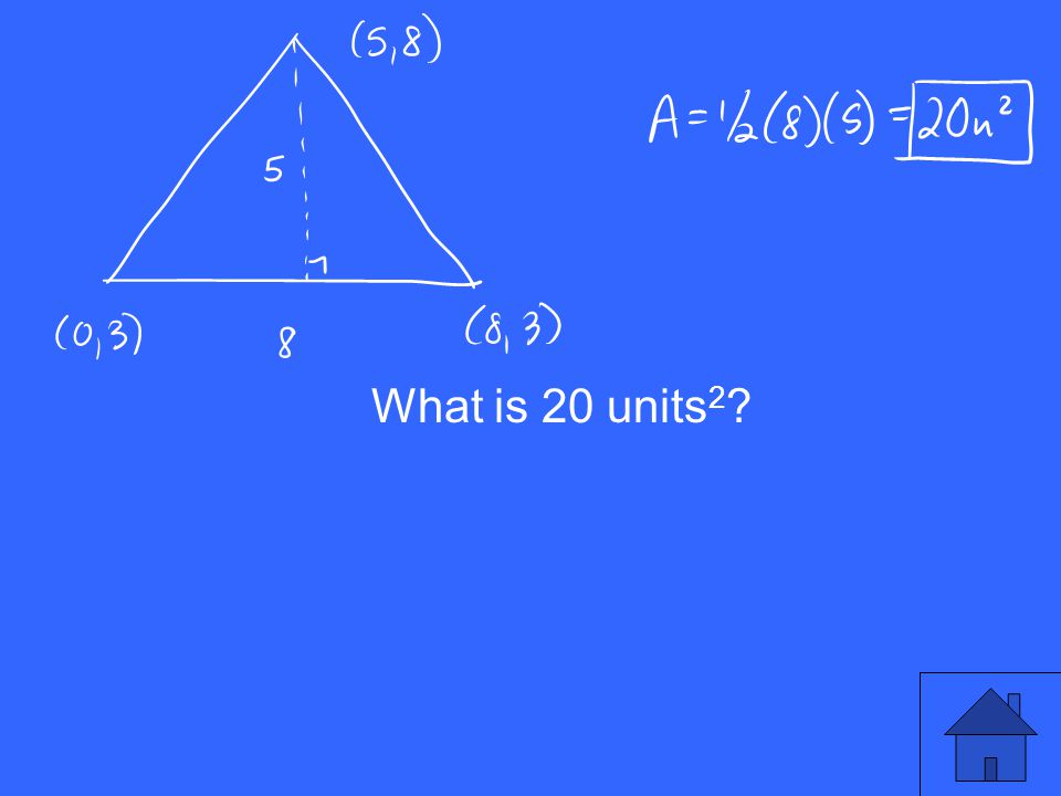 What is 20 units 2