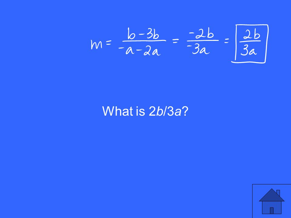 What is 2b/3a?