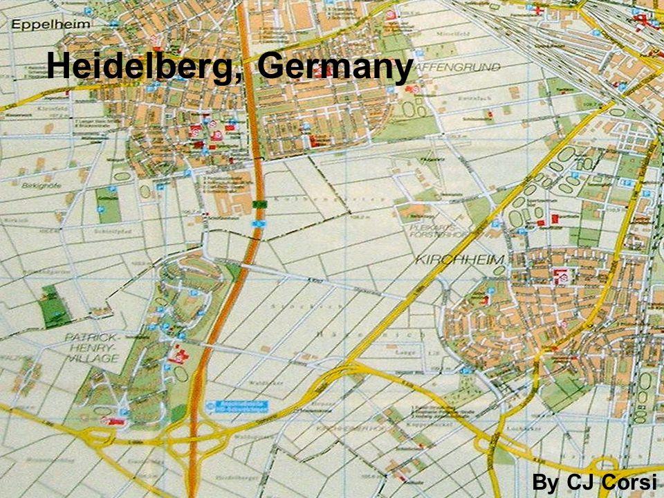 Heidelberg, Germany By CJ Corsi