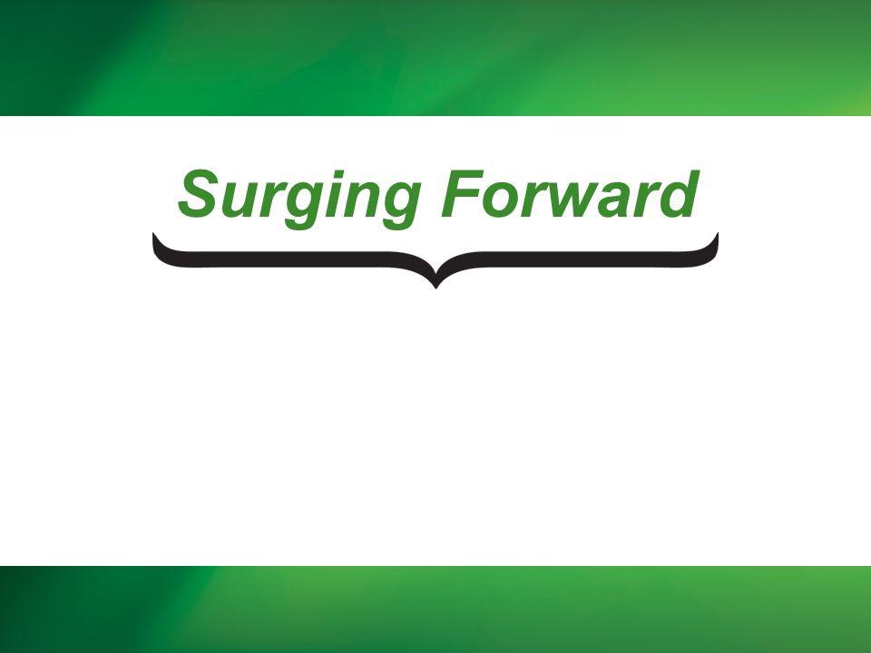 Surging Forward