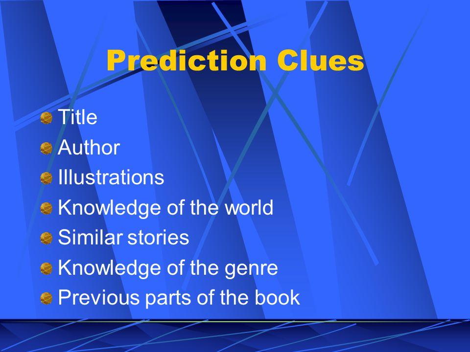 Prediction - Procedure 1.
