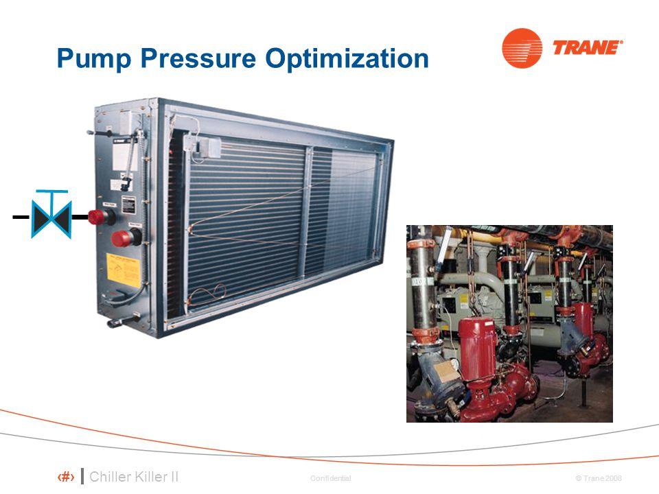 Chiller Killer II 13 © Trane 2008 Confidential Pump Pressure Optimization
