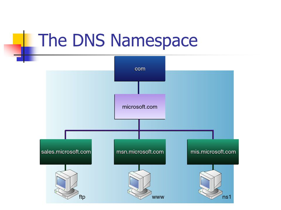The DNS Namespace