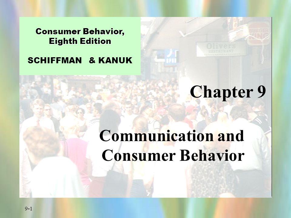 9-2 Figure 9.1 Basic Communication Model Sender (Source) Receiver (Consumer) Message Channel (Medium ) Feedback