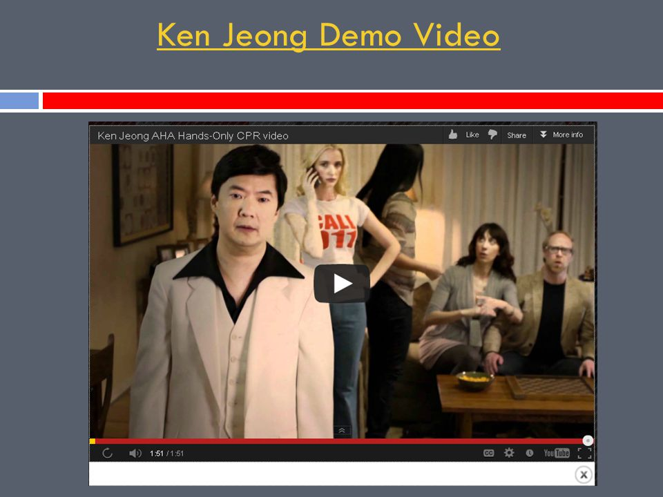 Ken Jeong Demo Video