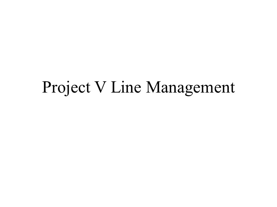 Definition of Project Management –A project can be defined as a 'non- repetitive activity'.