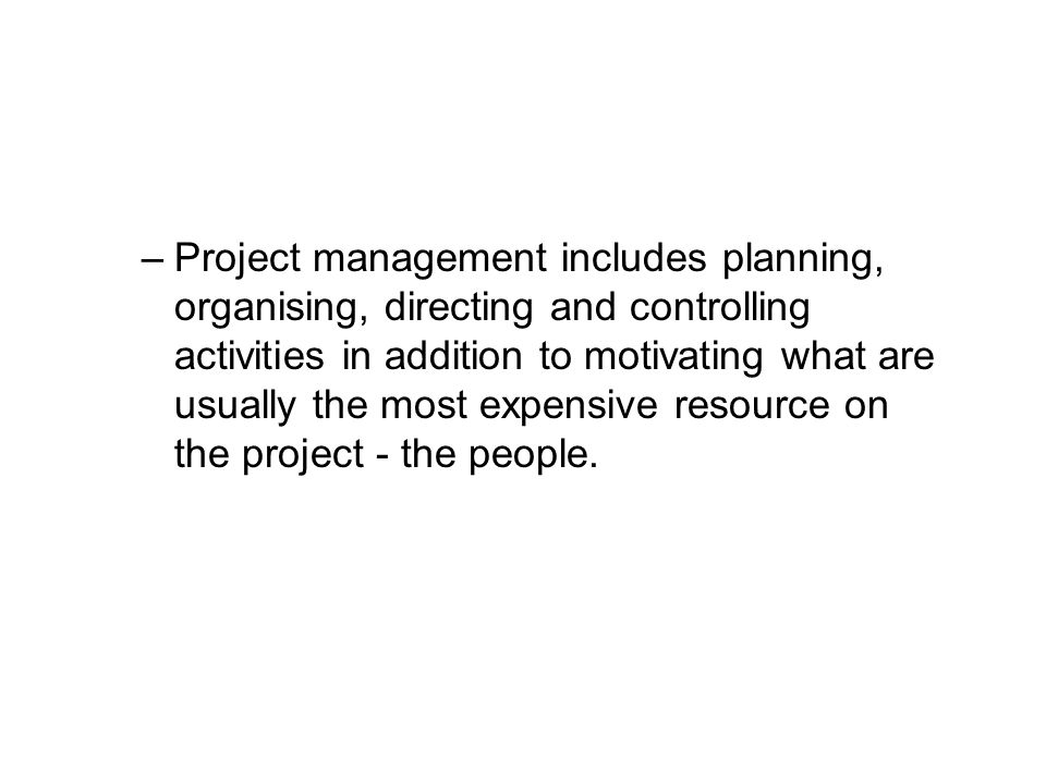 Project Management and Line Management At the head of each of the major functions within an organisation there will be functional or line managers.