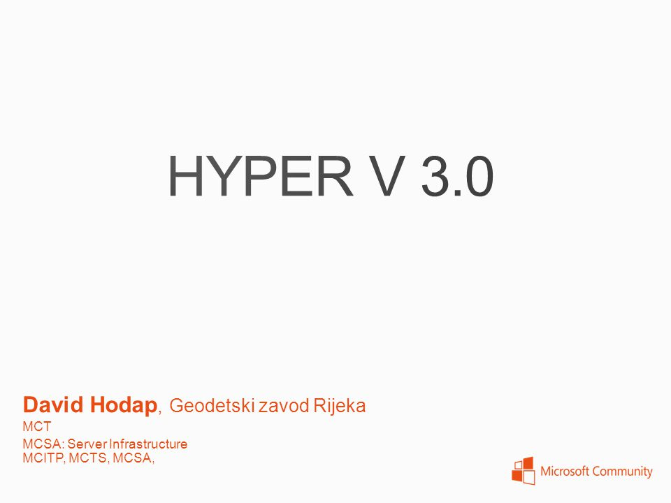 Replicate a running virtual machine to an alternate host Hyper – V replica is not a fail over clustering solution.