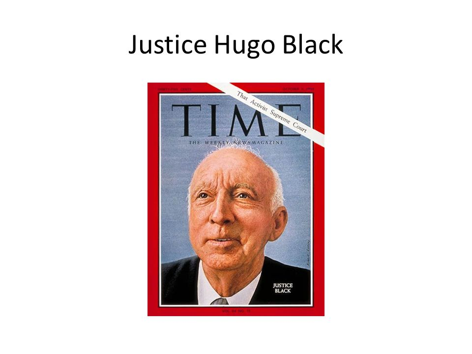 Justice Hugo Black
