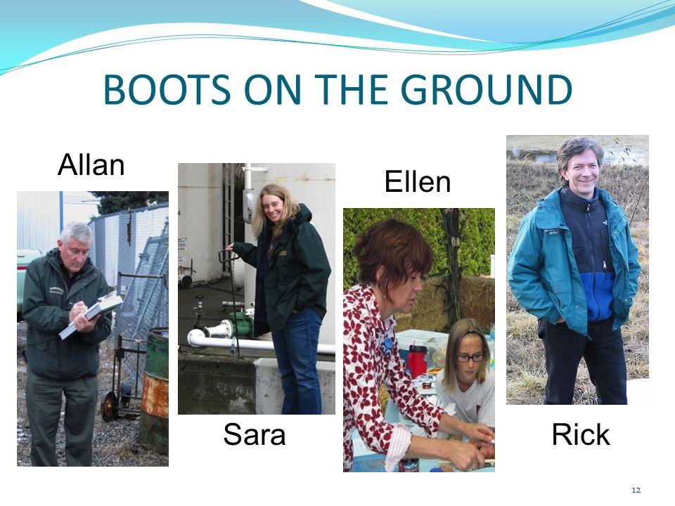 BOOTS ON THE GROUND Ellen Sara Allan Rick 12