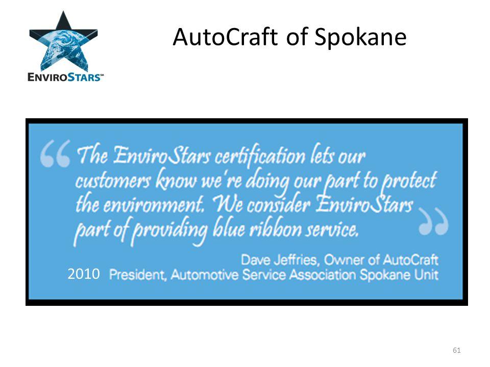 AutoCraft of Spokane 61 2010