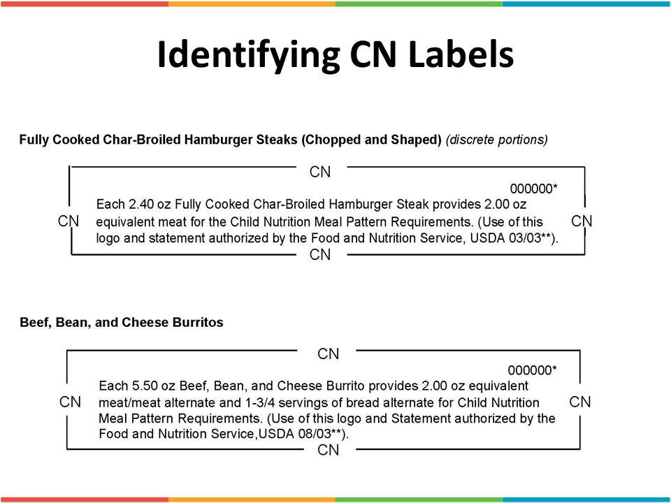 Identifying CN Labels