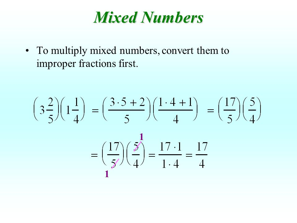 Remember, when multiplying signed numbers...