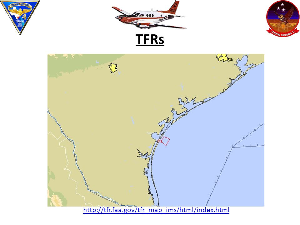 TFRs http://tfr.faa.gov/tfr_map_ims/html/index.html