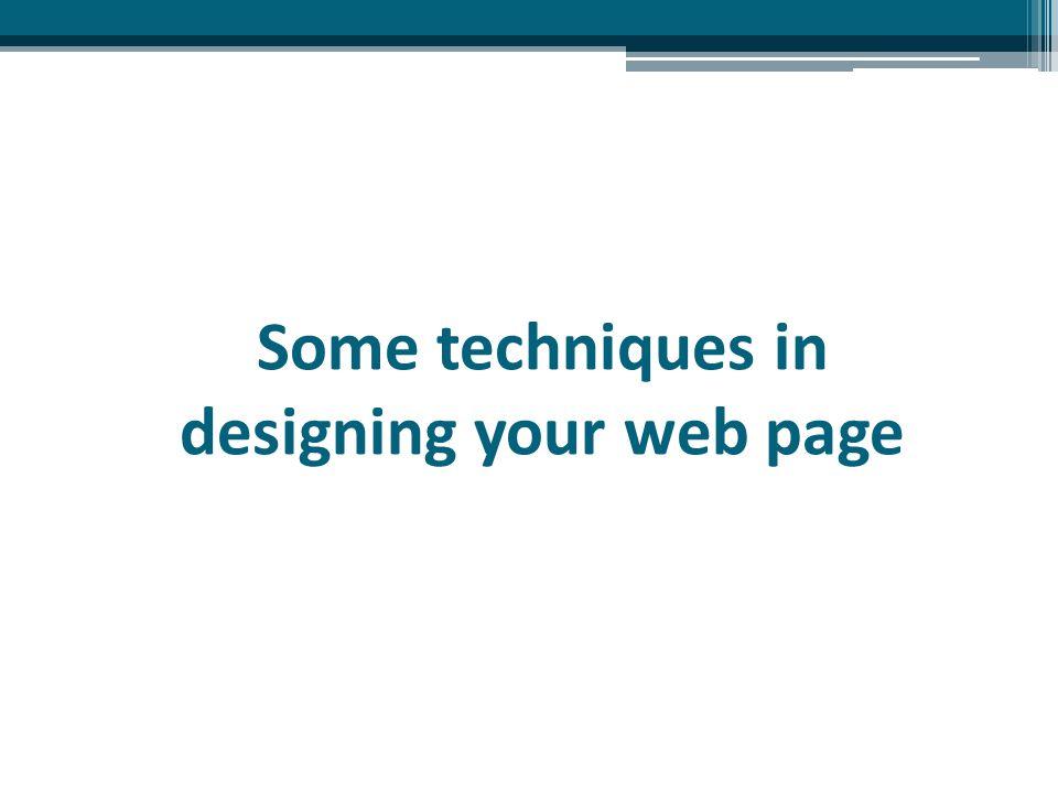 Design Techniques Design Layout For Webpage Design Theme For Website